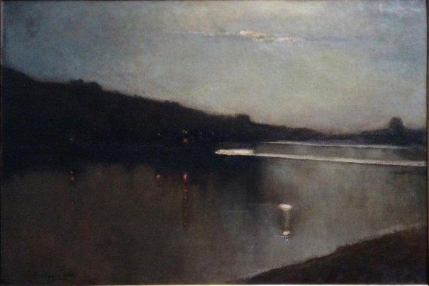 Delleani - Imminente luna 1882